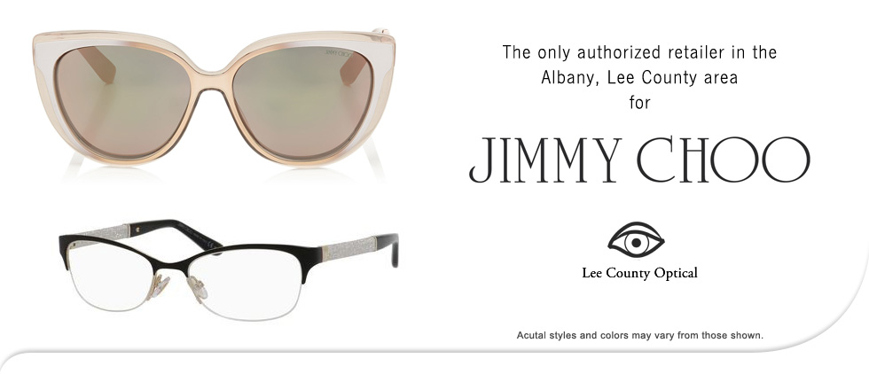 Jimmy Choo Eyewear at Lee County Optical