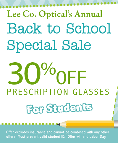lco news - back to school sale